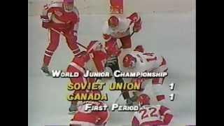 1987 World Juniors Canada - Soviet Union ch 02 of 25