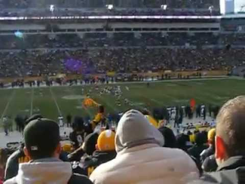 Steelers Game In Pittsburgh, Dad's Birthday, December 27th!