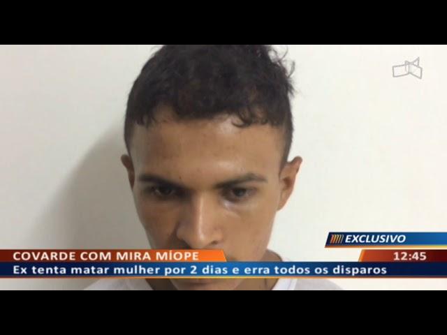 DF ALERTA - Ex tenta matar mulher por 2 dias e erra todos os disparos