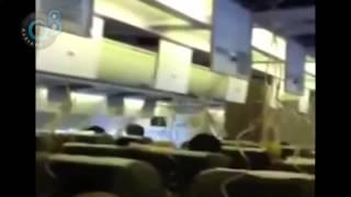 رحلة الرعب بـ طائرة الخطوط الكويتية المتجهه من جدة إلى الكويت التي عادت أدراجها بسبب خلل فني