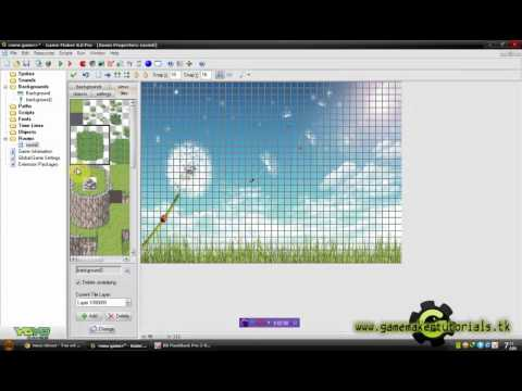 how to add background music to game maker