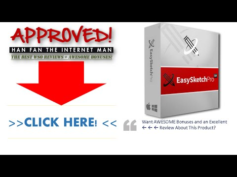 Easy Sketch Pro V2 Demo Video 2 - Get *BEST* Review And Bonus HERE ... :) :) :)