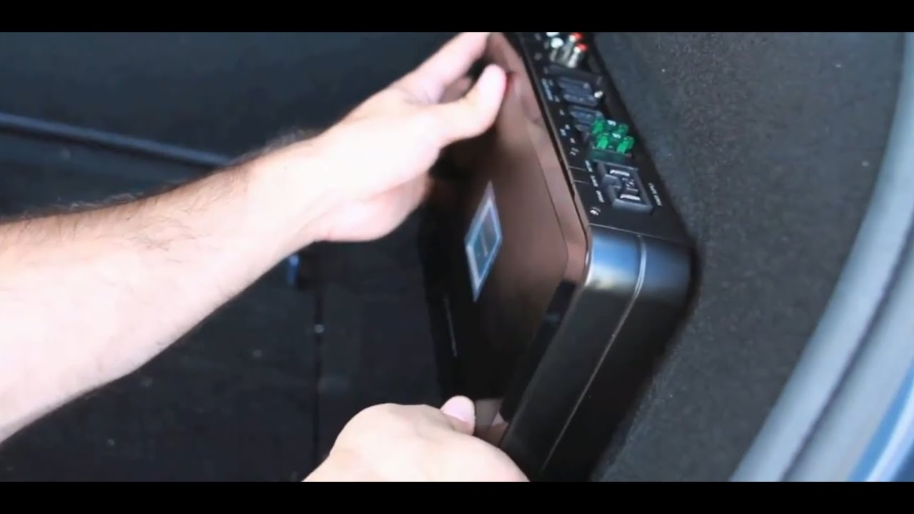 Where Can You Mount Your Amplifier Car Audio Youtube Renault Grand Scenic 2005 Fuse Box Layout