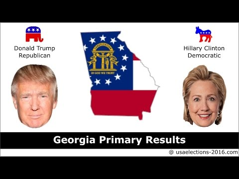 Georgia Primary Result 2016 : US Election 2016