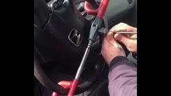 Steering wheel club lockout GeoLocksmith NYC Brooklyn 11214