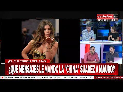 """¿Qué mensajes le mandó la """"China"""" Suárez a Mauro Icardi?"""