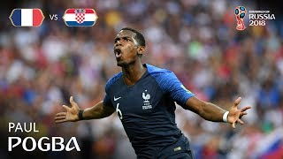 paul pogba goal - france v croatia - 2018 fifa world cup final