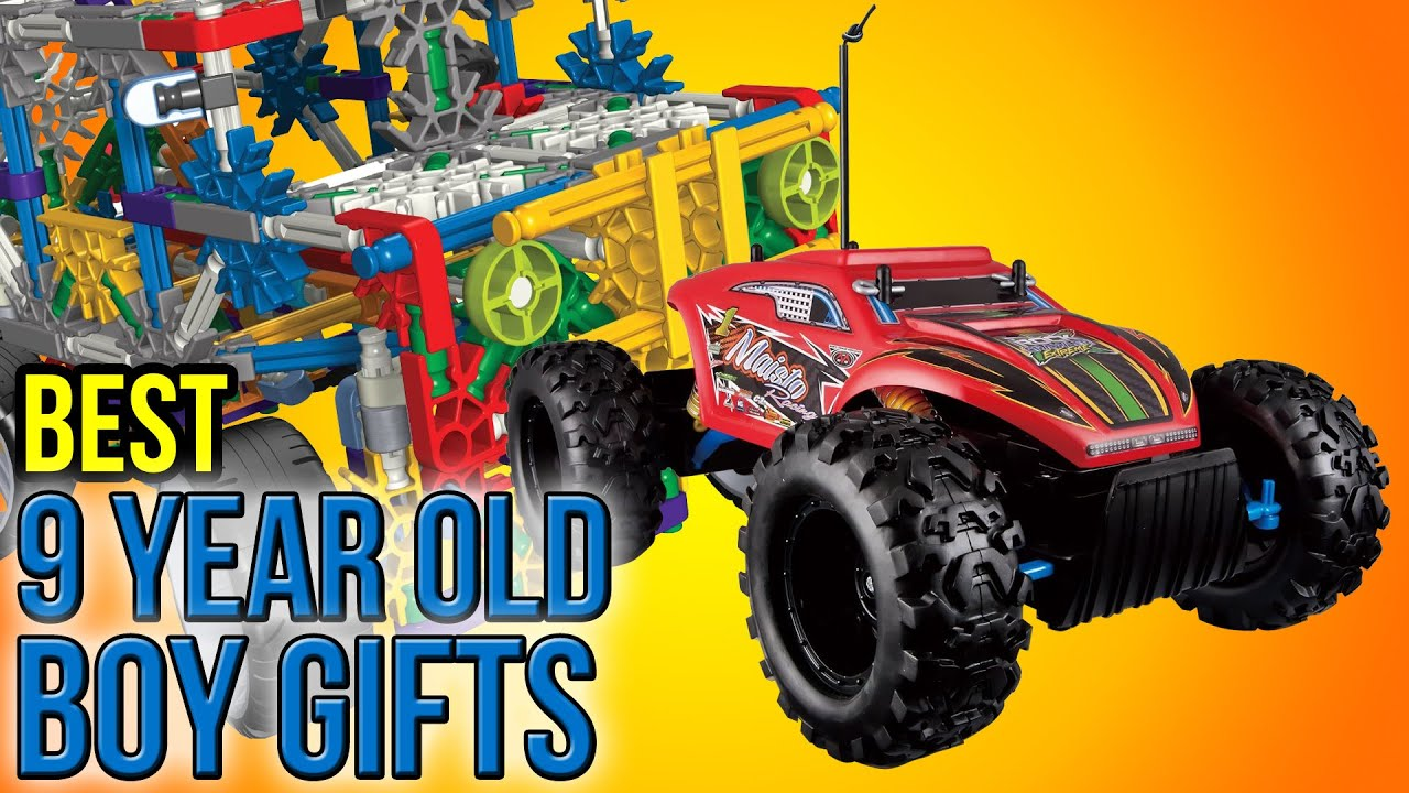 10 Best 9 Year Old Boy Gifts 2016
