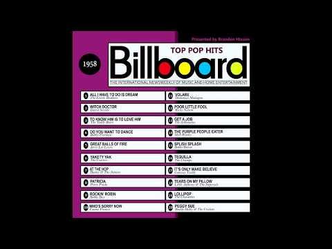 Billboard Top Pop Hits  1958