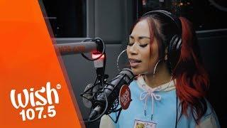 """Jessica Sanchez performs """"Millionaire"""" LIVE on Wish 107.5 Bus"""