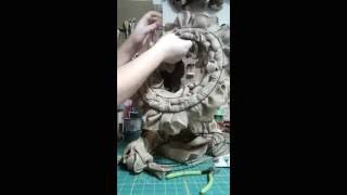 NEW Ruffle Wreath Technique! NO CUTTING