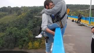 RopeJumping тандем с моста в Житомире