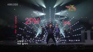 [HD][Perf] 2PM - Again & Again Comeback KBS Music Bank 090424