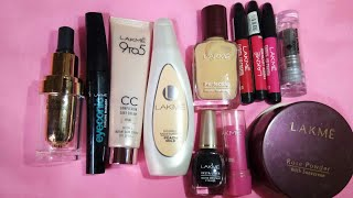 Makeup using lakme products only