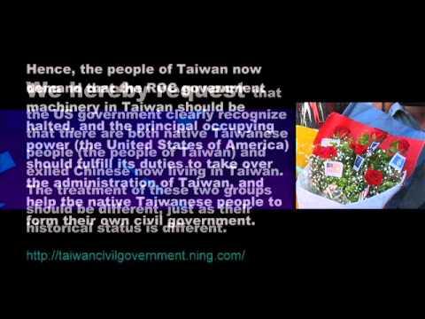 Taiwan Civil Government Announcement