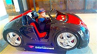 Крутая Машина в Детском шопе