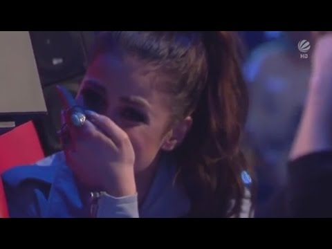 Solomia sings 'Time To Say Goodbye' - The Voice Kids Germany 2015 - Blind Auditions