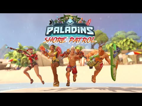 Paladins - Shore Patrol Battle Pass - Make a Splash!