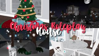 ROLEPLAY CHRISTMAS HOUSE TOUR!! | Roblox Bloxburg | Arabellaa