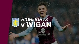 Aston Villa 1-0 Wigan Athletic | Highlights