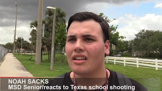 Marjory Stoneman Douglas students react to Texas school shooting