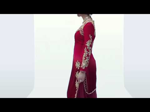 Stunning Maroon Colour Velvet Straight Cut Partywear Suit - Product Code 7305