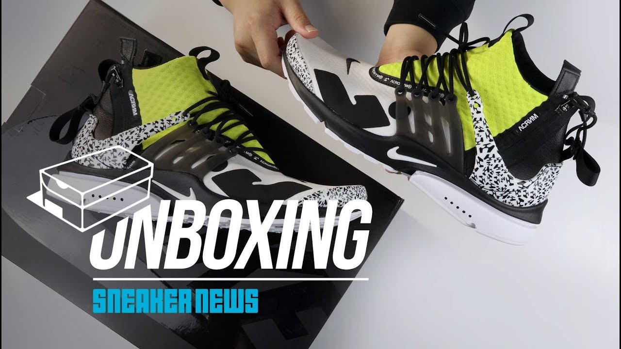 differently cfd06 e7b2e ACRONYM Nike Presto Unboxing + Review