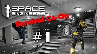 Space Engineers - Survival Co-Op #1 - Planetary Mining
