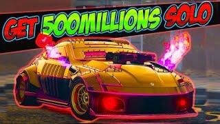 Unlimited solo - GTA 5 Money Glitch *Get 500 Million$ Per Min* gta 1.46 online money glitch