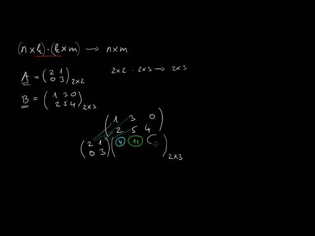 Mátrixok szorzása mátrixszal