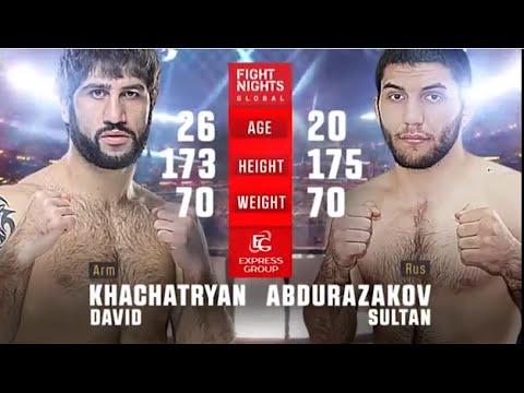 Давид Хачатрян vs. Султан Абдуразаков / David Khachatryan vs. Sultan Abdurazakov