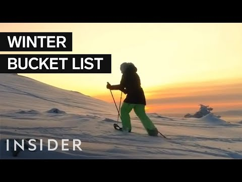 Mikey V - 7 Destinations To Add To Add To Your Winter Bucket List