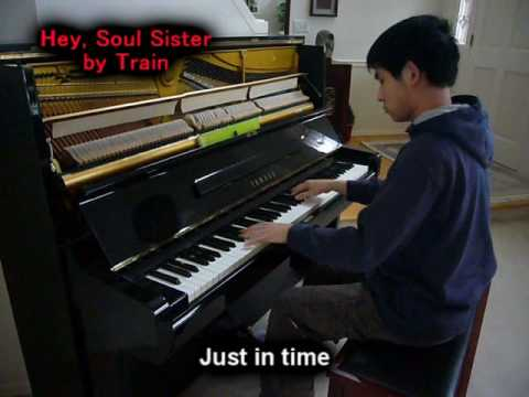 Train- Hey Soul Sister (Piano Cover) Music Video