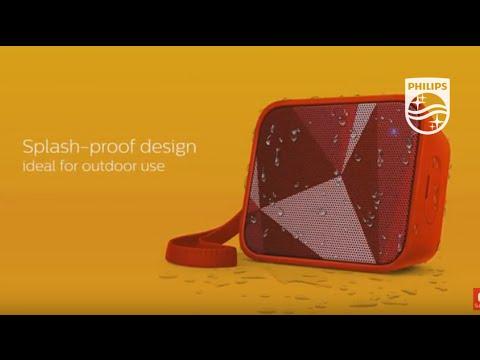 Philips Bluetooth® wireless portable speaker BT110 | Philips Sound