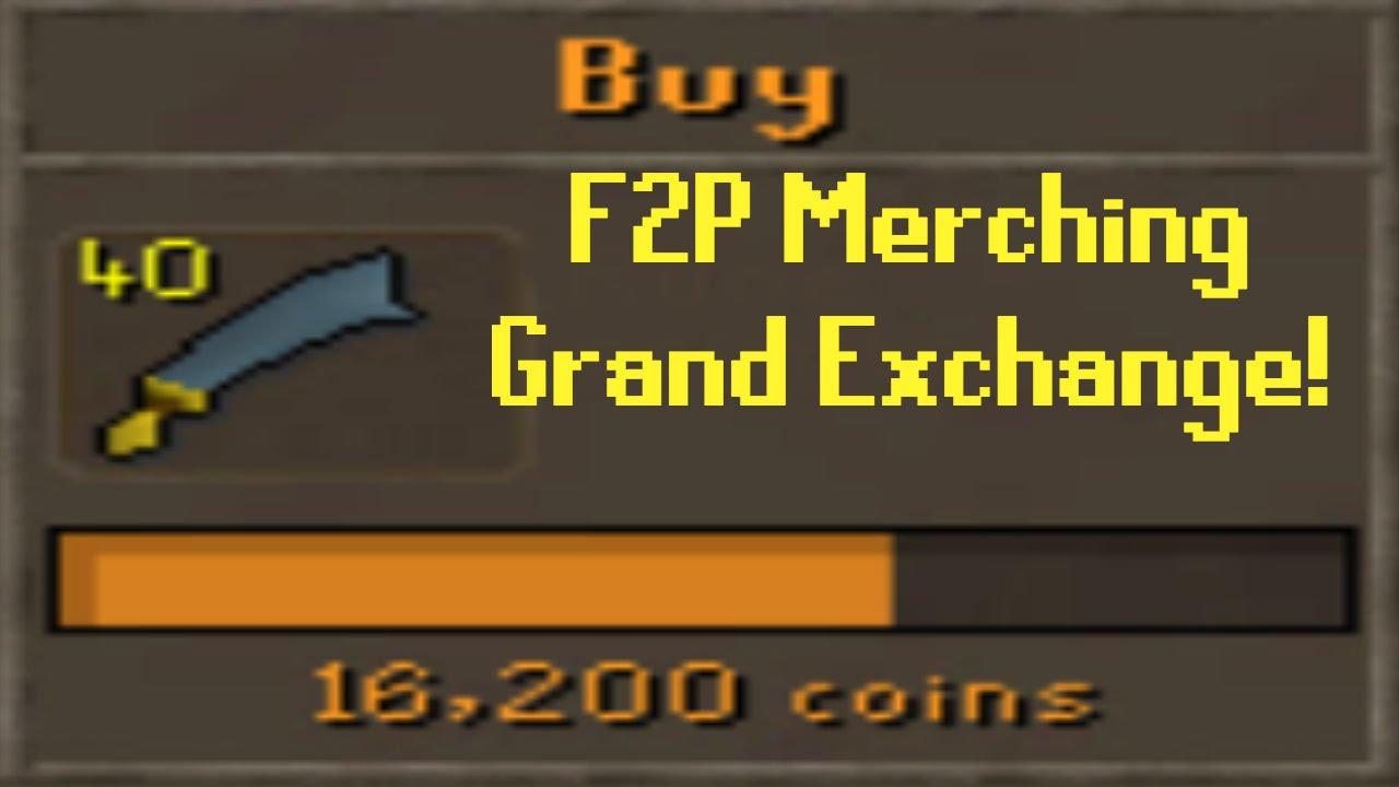 F2P Merching The Grand Exchange - Old School RuneScape - GirlsLikeRs