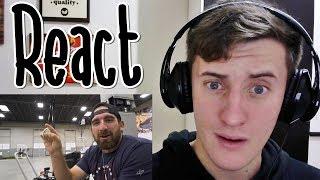 REACT O Melhor vídeo de FIDGET SPINNER do YouTube (Dude Perfect)