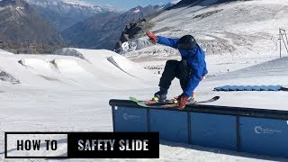 How To Safety Slide On Skis