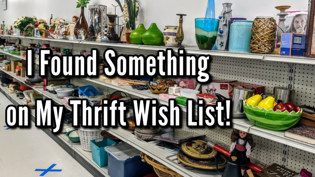 Thrifting at Goodwill-I Found a Thrift Wish List Item Haul June 2020