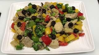 Stir Fried Veg salad | tossed vegetables | super veges | Made by Seema shaikh