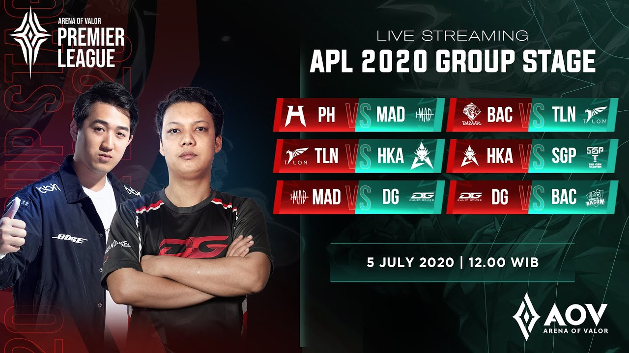 DG Esports vs Pops Bacon Time - Group A - APL 2020