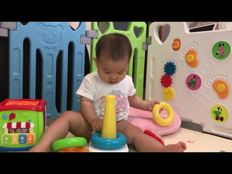 Jasmine's Toy Review - Episode 3 - Fisher Price Rock-A-Stack