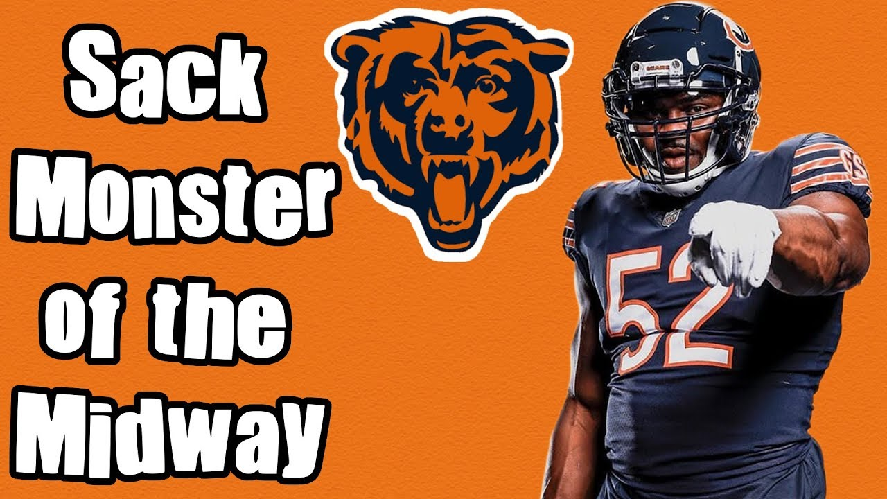 online store 6d0fa 59a5b Khalil Mack has turned the Bears into the best defense in the NFL! Khalil  Mack Highlights 2018!