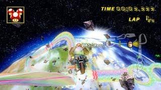 [MKWii TAS] Rainbow Road New Faster Strat and Bonus Clips