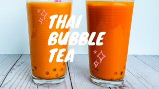 Thai Tea Boba Recipe