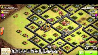 Clash of Clans - Clã Legion of Death - TOP 4 DO ALLE SK8 (ASSISTIR EM HD)
