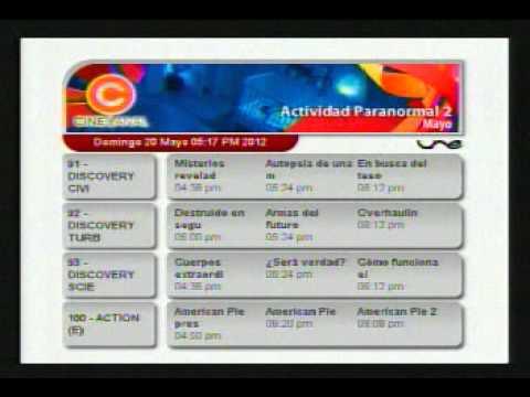Une tv convencional medellin guia de programaci n for Programacion canal cocina hoy