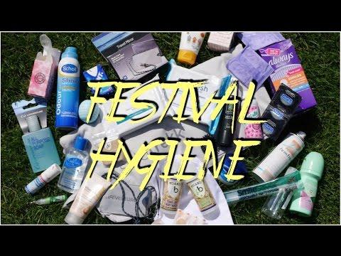 TIPS ON FESTIVAL HYGIENE