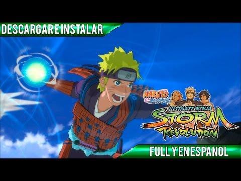 Descargar e Instalar Naruto Shippuden: Ultimate Ninja Storm Revolution | Full | Español | PC | HD