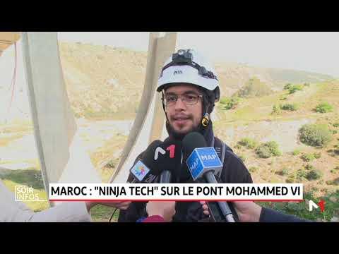 "Maroc: ""Ninja Tech"" sur le pont Mohammed VI"