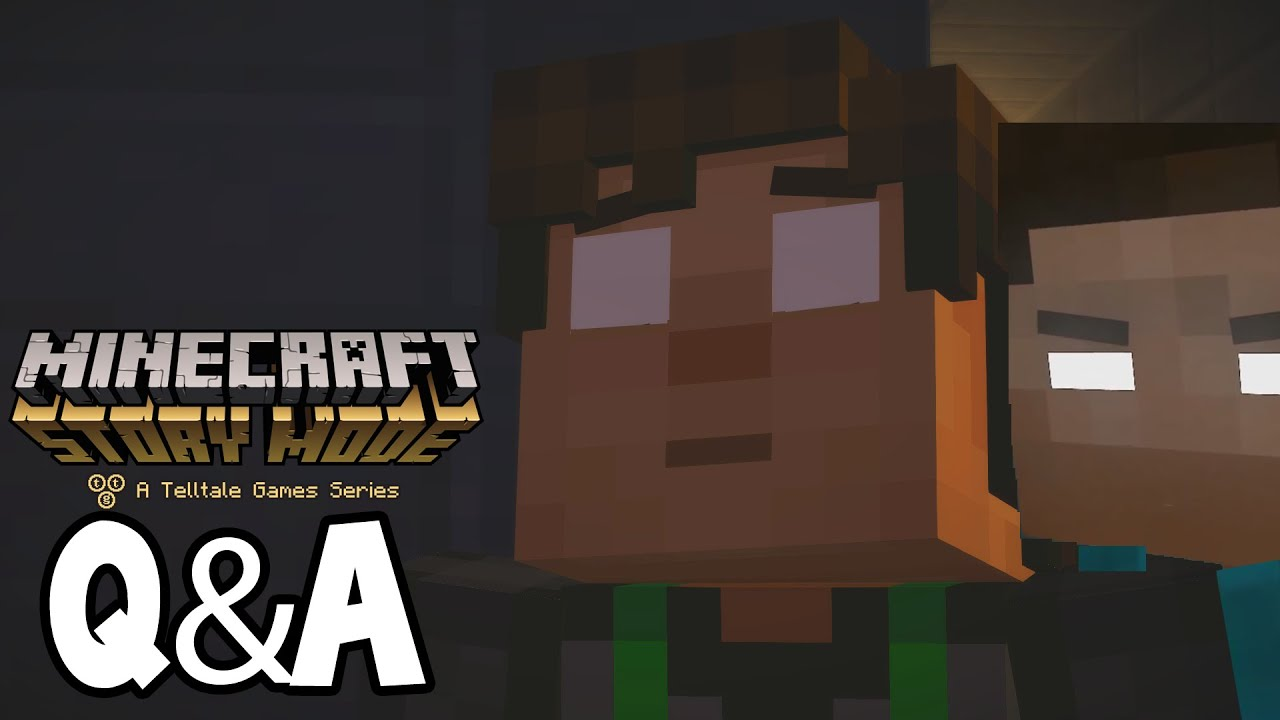 Minecraft Story Mode   Will We See HEROBRINE ?   YouTube